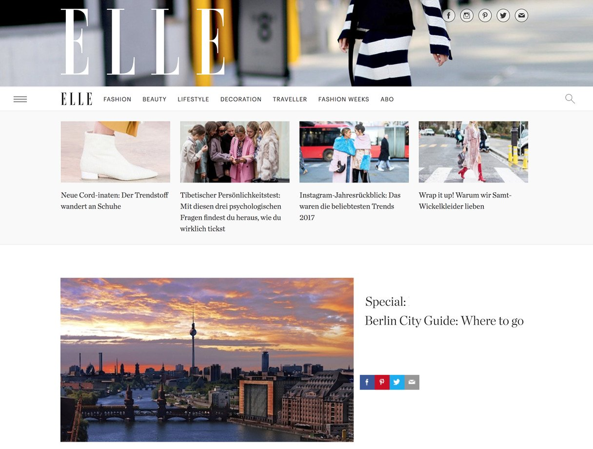 ELLE City Guide